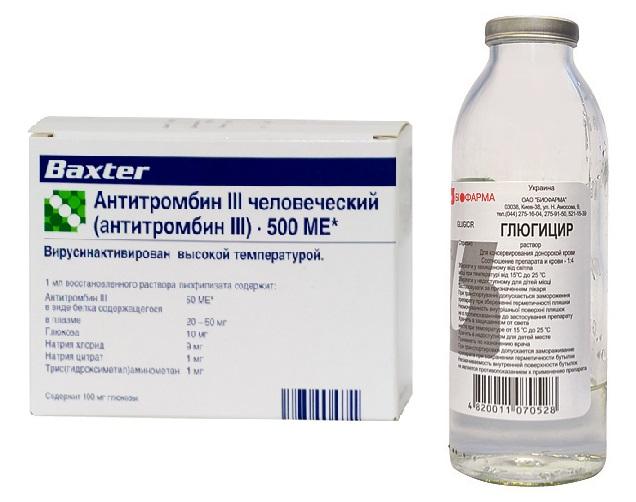 Гепарины для внутривенного и подкожного введения