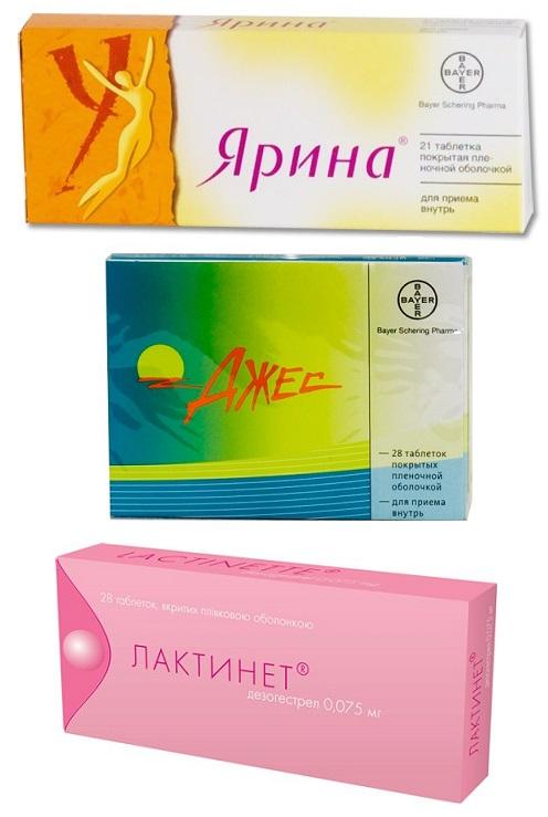 Микродозированные, низкодозированные, высокодозированные, міні-пили оральні контрацептиви