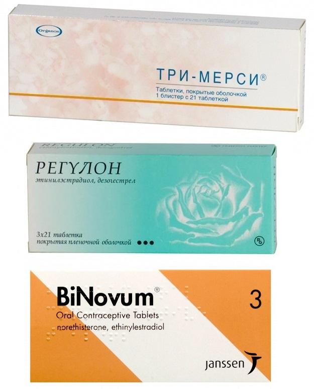 Монофазные, двофазні, трифазні оральні контрацептиви