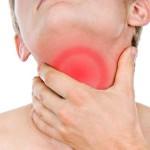 Боли в горле или гортани при глотании