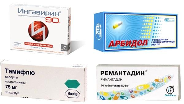 Обзор противовирусных препаратов при ОРВИ и гриппе
