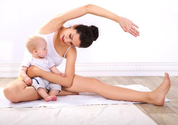 как убрать висящий живот после родов