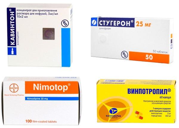 Препарати для поліпшення мозкового кровообігу у дітей і дорослих