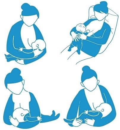 Як правильно прикладати дитину для годування пози, правильний захват, помилки матусь150x150_4934